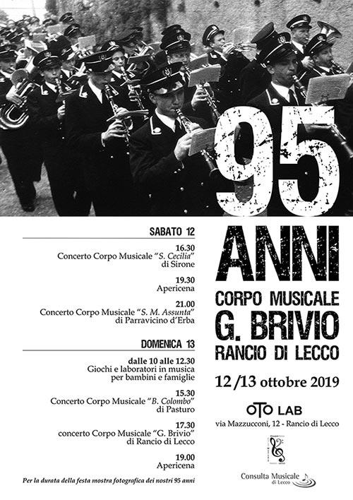 Oto Lab Lecco - 95 anni Corpo Musicale Brivio Lecco
