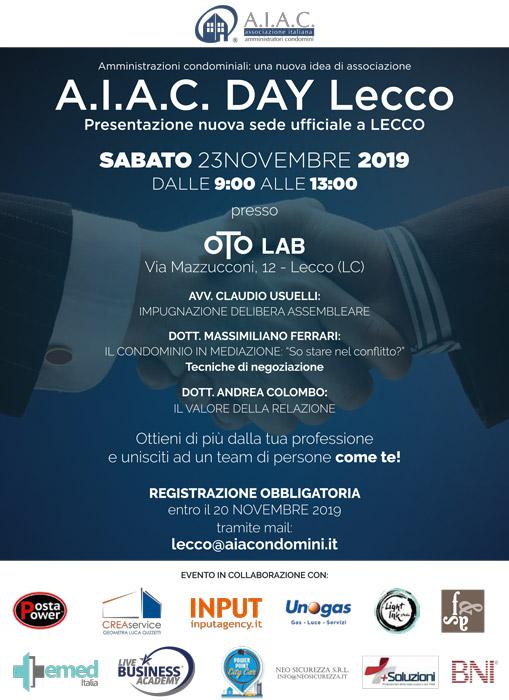 Oto Lab - A.I.A.C Day Lecco, presentazione nuova sede ufficiale