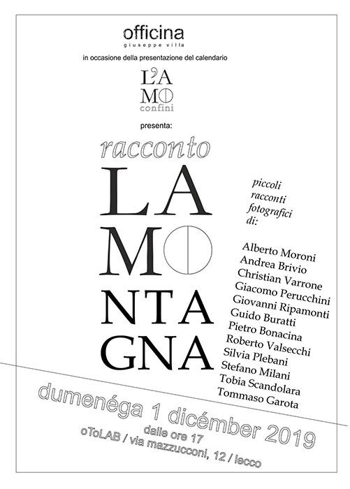 Oto Lab Lecco - Racconti fotografia La Montagna Officina Villa