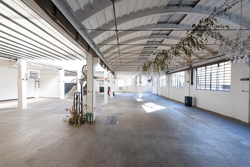Oto Lab - Location eventi industriale